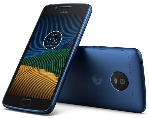 Мобилен телефон Motorola MOTO G5 DUAL SIM BLUE